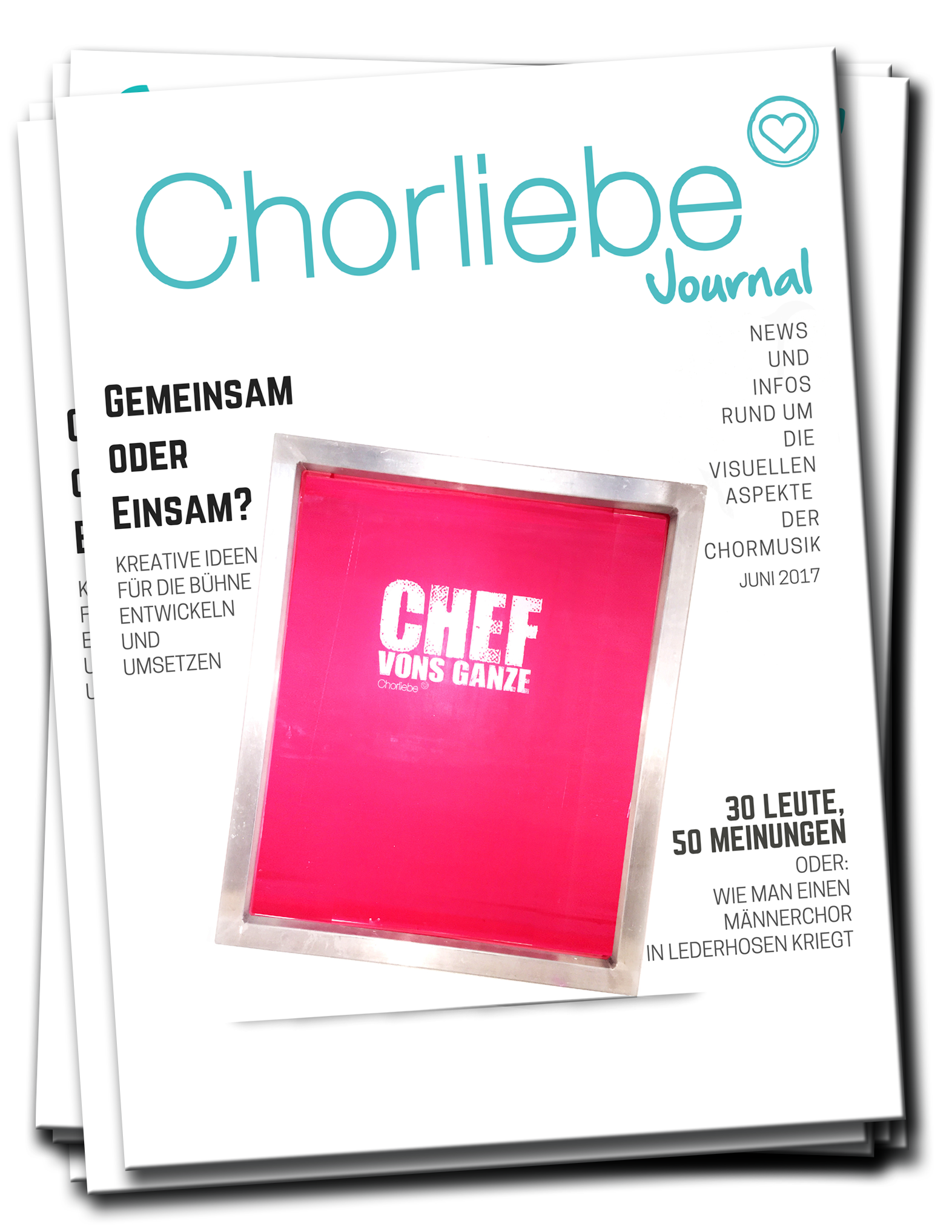 Newsletter-Journal von Chorliebe