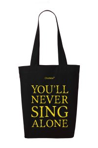 Notentasche You'll never sing alone