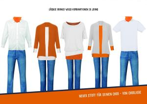 Produktkombinationen orange Weiss Chorliebe Sense of Unity SoU